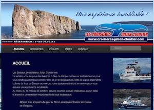 Les croisières Julien Cloutier - Gaspésie, Percé