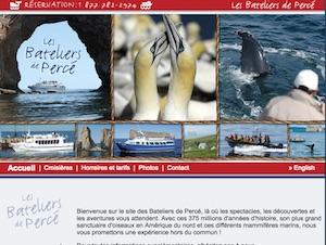Les Bateliers de Percé - Gaspésie, Percé