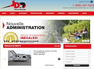 Véhicule Récréatif JDVR Inc. - Estrie / Canton de l'est, Sherbrooke (Rock Forest–Saint-Élie–Deauville)
