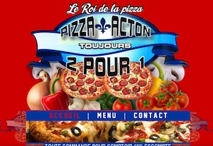 Pizza Acton - Montérégie, Acton Vale