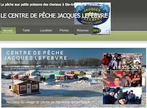 Centre de Pêche Jacques Lefebvre - Mauricie, Sainte-Anne-de-la-Pérade