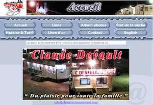 Aux petit poissons des chenaux Claude Devault - Mauricie, Sainte-Anne-de-la-Pérade