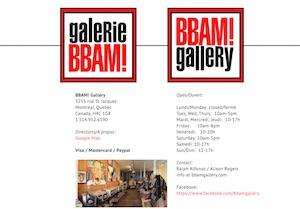 Galerie BBAM! - Montréal, Ville de Montréal (Southwest)