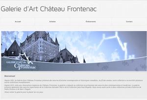 Galerie d'Art Château Frontenac - Capitale-Nationale, Ville de Québec (V)