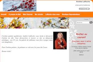 Andrée LaRoche - Capitale-Nationale, Ville de Québec (V) (Les Rivières)