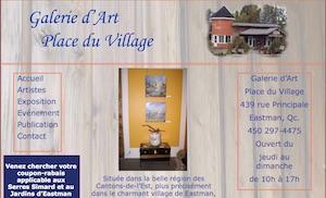 Galerie d'Art Place du Village - Estrie / Canton de l'est, Eastman