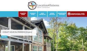 Location 4 Saisons Chalets - Laurentides, Rivière-Rouge