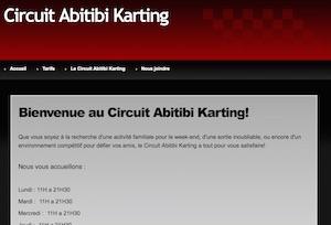 Circuit Abitibi Karting - Abitibi-Témiscamingue, Rouyn-Noranda