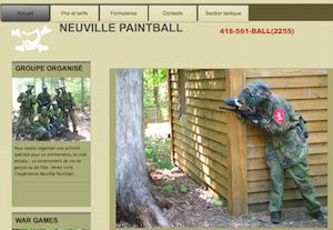 Neuville Paintball - Capitale-Nationale, Neuville