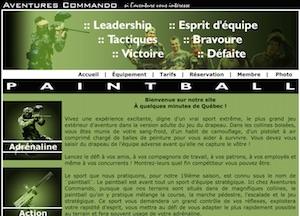 Aventures Commando Inc. - Capitale-Nationale, Ville de Québec (V)
