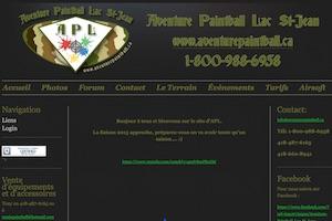 Aventure Paintball Lac St-Jean Inc. - Saguenay-Lac-Saint-Jean, Alma (Lac-St-Jean)