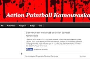 Action Paintball Kamouraska - Bas-Saint-Laurent, Saint-Pacôme