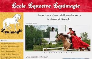 École Équestre Équimagie - Laurentides, Mirabel (Saint-Benoît)