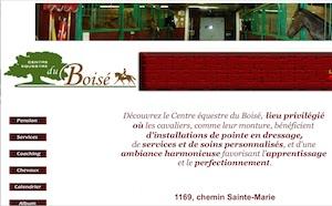 Le Centre équestre du Boisé - Lanaudière, Mascouche
