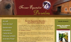 Ferme Équestre Dorelies - Capitale-Nationale, Saint-Basile-de-Portneuf