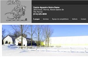 Centre Équestre Notre-Dame - Montérégie, Notre-Dame-de-l'Île-Perrot