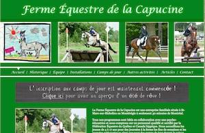Ferme Équestre de la Capucine - Montérégie, Saint-Marc-sur-Richelieu