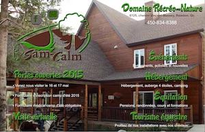 Domaine Sam-Calm - Lanaudière, Rawdon