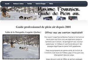 Maxime Fournier - Guide de Plein Air - Gaspésie, Saint-Vianney