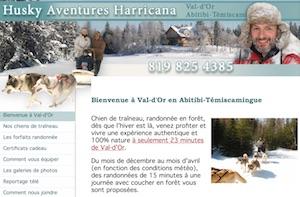 Husky Aventure Harricana - Abitibi-Témiscamingue, Val-d'Or