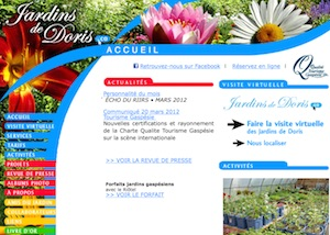 Jardins de Doris - Gaspésie, Matane