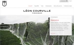 Léon Courville, vigneron - Estrie / Canton de l'est, Lac-Brome