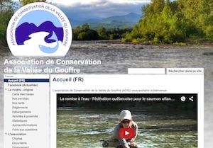 L'association de Conservation de la Vallée du Gouffre (ACVG) - Charlevoix, Saint-Urbain