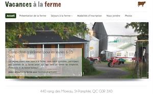 Ferme Bouchard Dupont - Camp de vacances à la ferme - Chaudière-Appalaches, Saint-Pamphile (Côte-du-Sud)