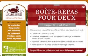 Le Canard Goulu - Chaudière-Appalaches, Saint-Apollinaire (Lotbinière)