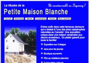 Le Musée de la Petite Maison Blanche - Saguenay-Lac-Saint-Jean, Saguenay (Saguenay) (V) (Jonquière)