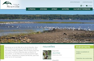 Ville de Neuville - Capitale-Nationale, Neuville