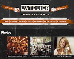 L'Atelier Tartares et Cocktails - Capitale-Nationale, Ville de Québec (V)
