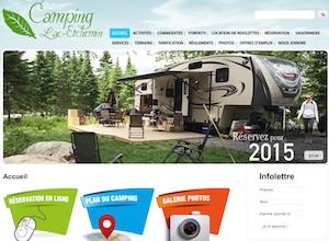 Camping Lac-Etchemin - Chaudière-Appalaches, Municipalité Lac-Etchemin (Bellechasse)
