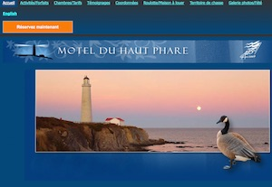 Motel du Haut Phare - Gaspésie, Gaspé (Cap-des-Rosiers)