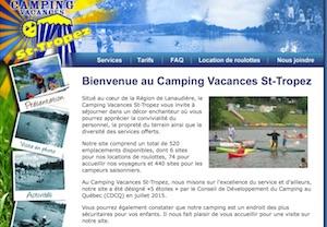 Camping Vacances St-Tropez - Lanaudière, Sainte-Béatrix