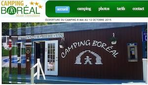 Camping Boréal - Laurentides, Mont-Tremblant