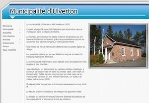 Municipalité d'Ulverton - Estrie / Canton de l'est, Ulverton