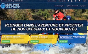 Rafting à la Rivière Rouge - Laurentides, Grenville-sur-la-Rouge