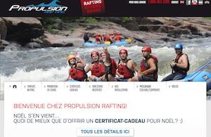 Propulsion Rafting - Laurentides, Grenville-sur-la-Rouge