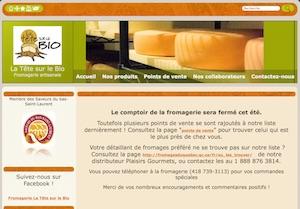 Fromagerie La Tête sur le Bio - Bas-Saint-Laurent, Sainte-Luce-sur-Mer