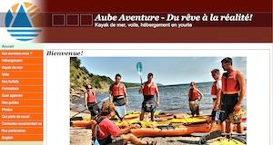 Aube Aventures - Gaspésie, Ville de Gaspé (Cap-aux-Os)