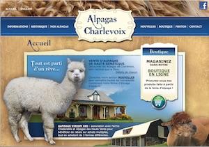 Alpagas Charlevoix - Charlevoix, Les Éboulements