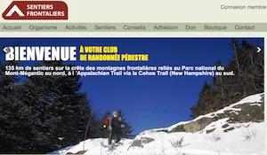 Sentiers frontaliers - Estrie / Canton de l'est, Saint-Augustin-de-Woburn (M)