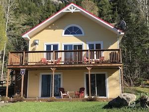 Chalet Mouchette - Bas-Saint-Laurent, Saint-Fabien
