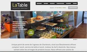 La Table - Resto Boutique - Charlevoix, Les Éboulements