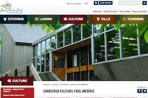 Carrefour culturel Paul-Médéric - Charlevoix, Baie-Saint-Paul