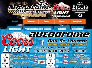 Autodrome Bas St-Laurent - Bas-Saint-Laurent, Saint-Eugène-de-Ladrière