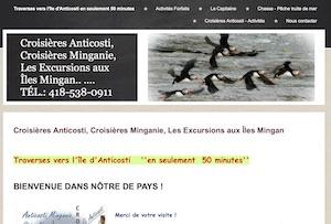 Croisières Anticosti, Croisières Minganie, Les Excursions aux Îles Mingan - Côte-Nord / Duplessis, Port-Menier (l'Île d'Anticosti)