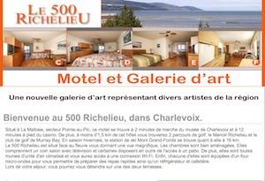 500 Richelieu - Charlevoix, La  Malbaie (Pointe-au-Pic)