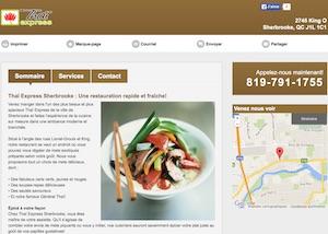 Restaurant Thai Express - Estrie / Canton de l'est, Sherbrooke